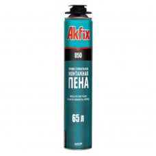 Пена монтажная Akfix PRO MEGA (850мл/65л.)