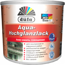 Аква-эмаль глянцевая DUFA Aqua-Hochglanzlack (0.75 л.)