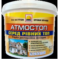 Краска фасадная атмосферостойкая BUILDER АТМОСТОП (1,4 кг)