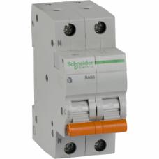 Выключатель автоматический Schneider ВА63 2П 16А С