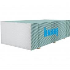 Гипсокартон потолочный влагостойкий 9,5мм (1,2*2,5м) KNAUF (Кнауф)