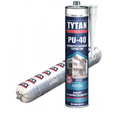 Герметик полиуретановый Tytan Professional PU 40 (600мл/серый)