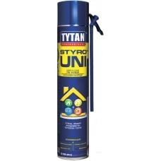 Пена-клей ручная Tytan О2 STYRO Uni (750мл)