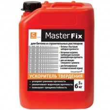 Пластификатор ускоритель твердения Coral Master Fix (Корал) (5л)