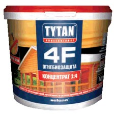 Огнебиозащита для дерева Tytan 4F (1:4/1кг)