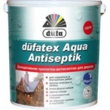 Декоративная пропитка – антисептик DUFA Aqua Antiseptik (белая) (0.75 л.)