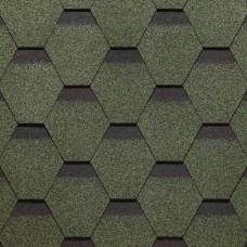 Битумная черепица Roofmast Соната (зеленый/3 кв м/уп)