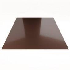 Лист гладкий 1.25*2*0,45 (коричневый)
