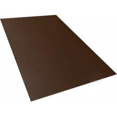 Лист гладкий 1.25*2*0,45 (коричневый/матовый)