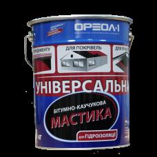 Мастика битумно-каучуковая ОРЕОЛ (10кг.)