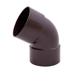 Колено водосточное Profil 75 (67град./двухраструбовое)