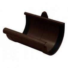 Муфта желоба RAINWAY (130мм/коричневая)