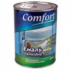 Эмаль Комфорт (Comfort) ПФ-115 белая (0,9кг.)