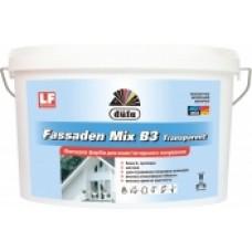 Краска фасадная для компьютерной колеровки DUFA Fassaden Mix B3 Transparent (4.5 л.)