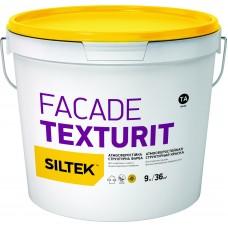 """Краска структурная SILTEK """"Fascade texturit"""" (база ТА/4,5л)"""
