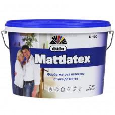 Краска латексная матовая DUFA D100 Mattlatex (14кг.)