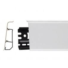 Плинтус Arbiton Indo Белый 01 (2,5 м)