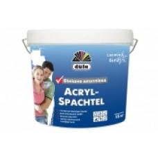 Шпаклевка финишная белоснежная DUFA Acryl-Spachtel (16 кг.)
