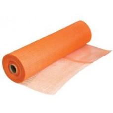 Сетка штукатурная Fiber mesh оранжевая 6*5мм (50м.кв 145гр/м2)