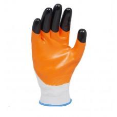 Перчатки Нитрил Right hausen (черные пальцы усиленные)
