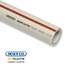 Труба EKOPLASTIK Fiber Basalt Plus PN20 d25