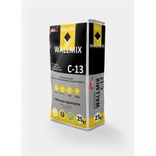 Штукатурка цементная для внутренних работ Wallmix C-13 (25кг)