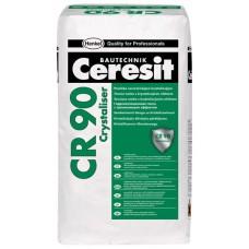 Гидроизоляционная смесь CERESIT CR 90 CRYSTALISER (25кг)