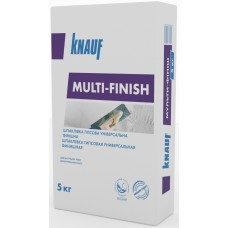 Шпатлевка KNAUF (Кнауф) Мультифиниш (5кг)