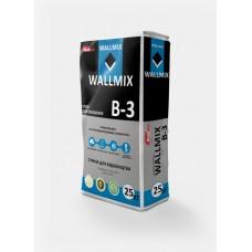 Клей для газоблока Wallmix В-3 (25кг.)