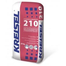 Смесь для приклейки пенопласта Крайзель 210 (25 кг.)