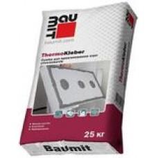 Смесь для приклейки пенополистирола и минеральной ваты BAUMIT THERMOKLEBER (25кг)