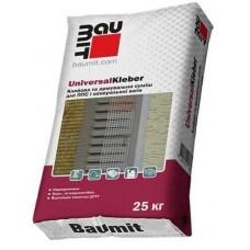 Смесь для приклейки и армировки пенополистирола и минеральной ваты BAUMIT UNIVERSALKLEBER (25кг)