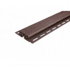 Планка FaSiding соединительная (коричневая)