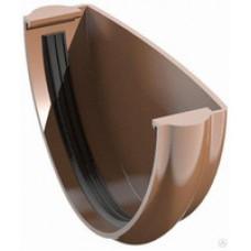 Заглушка желоба коричневая Технониколь (125мм)