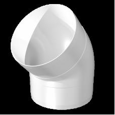 Колено 45° круглого воздуховода Омис (D100)