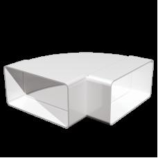 Колено горизонтальное 90° Омис (55х110)