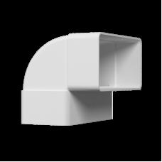 Колено вертикальное 90° Омис (55х110)