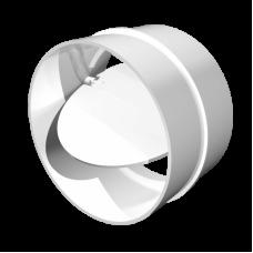 Соединитель круглых воздуховодов с обратным клапаном Омис (D100)