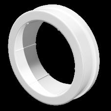 Соединитель круглых воздуховодов центральный Омис (D100/125)