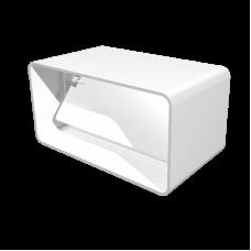 Соединитель прямоугольных воздуховодов с обратным клапаном Омис (55х110)
