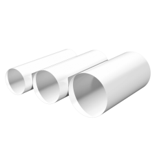 Воздуховод круглый ПВХ Омис (D100/L=0.5м)