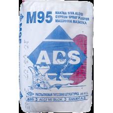 Шпатлевка ABS М-95 для машинного нанесения (белая/35кг)