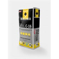 Штукатурка цементно-известковая Wallmix C-16 (25кг)
