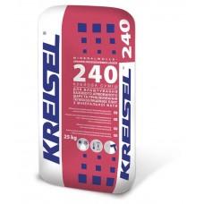 Клей для приклеивания и армирования минеральной ваты Крайзель (Kreisel) 240 (25кг.)