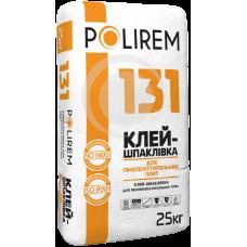 Клей для приклейки пенополистирольных плит ПОЛИРЕМ 131L (25кг)