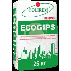 Шпаклевка ПОЛИРЕМ Ecogips финиш (25кг)