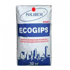 Штукатурка ПОЛИРЕМ Ecogips старт (30кг)