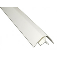 Пластик угол внутренний белый (8мм)