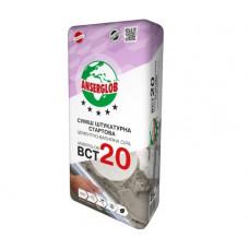 Штукатурка цементно-известковая старт АНСЕРГЛОБ ВСТ-20 (25кг)