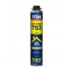 Пена-клей проф Tytan О2 STYRO 753  GUN B3 750 мл